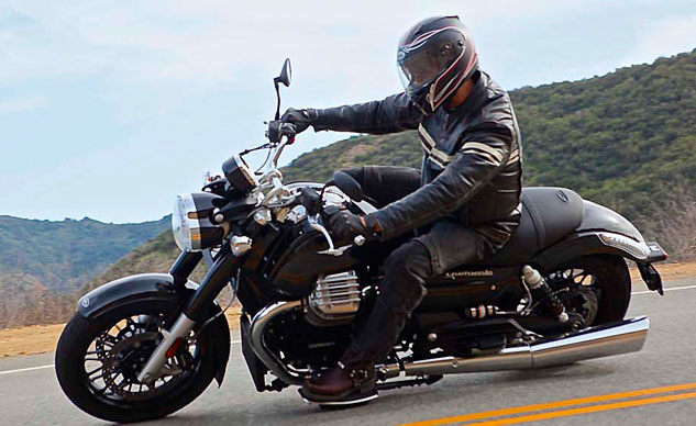 Best Cruiser: 2013 Moto Guzzi California Custom