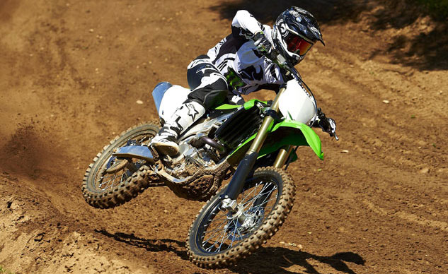 Best Dirt Bike: 2013 Kawasaki KX450F