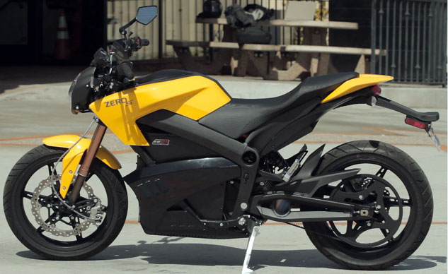 Best Electric Motorcycle: 2013 Zero S