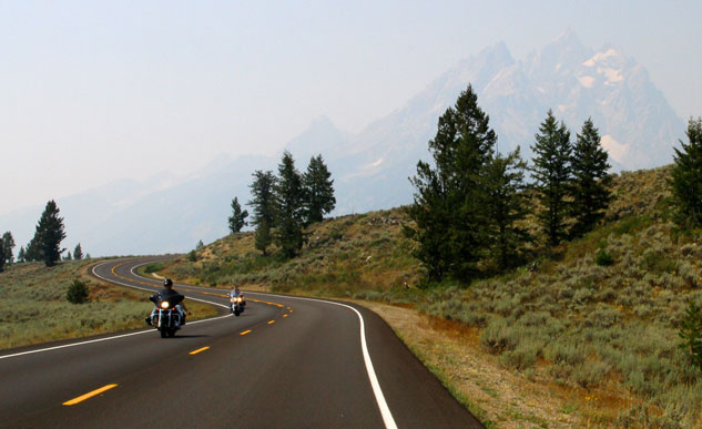 Teton Range over riders