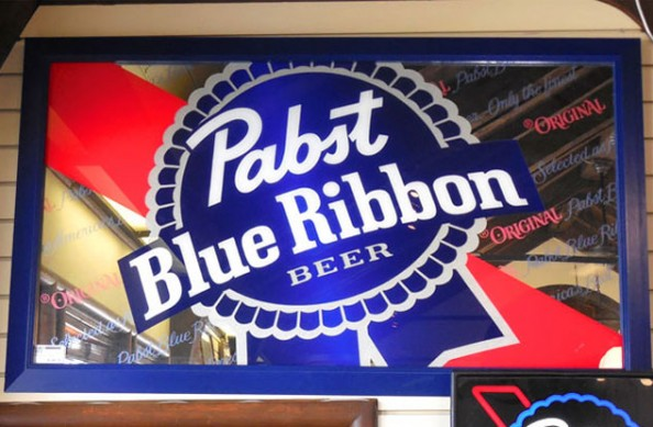 Pabst Blue Ribbon Mirror