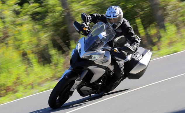 Best Sport Touring Motorcycle: 2013 Ducati Multistrada 1200