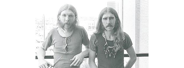 Duane Allman and Barry Oakley