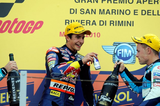 Marc Marquez is no stranger to Misano, winning races the last three years.