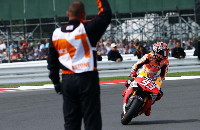 Marc Marquez's winning streak ended at Silverstone but the remarkable rookie has still reached the podium in 11 of 12 rounds this season.