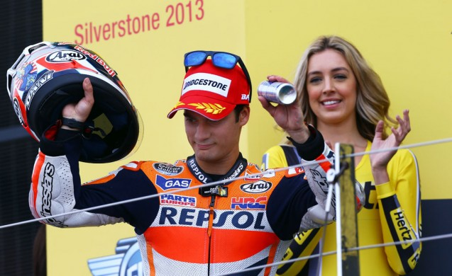 For most racers, finishing on the podium is a good day. For Dani Pedrosa, anything short of winning usually means falling further from the championship lead.