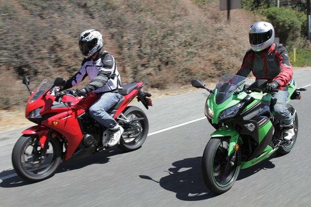 Despite not fitting the definition of a new motorcyclist, our three testers were split between the Kawasaki Ninja 300 and Honda CBR500R. The Honda wins the majority vote, but the 300 has a soft spot in our hearts as well. Our split decision proves that even we have a hard time picking just one. It's up to you to decide your needs and wants and choose accordingly.