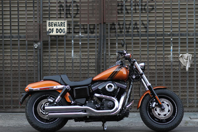 The introduction of the TC103 helped reestablish its rowdy reputation – and its new Dark Custom makeover should cement the Fat Bob's status as the baddest bobber on the block.
