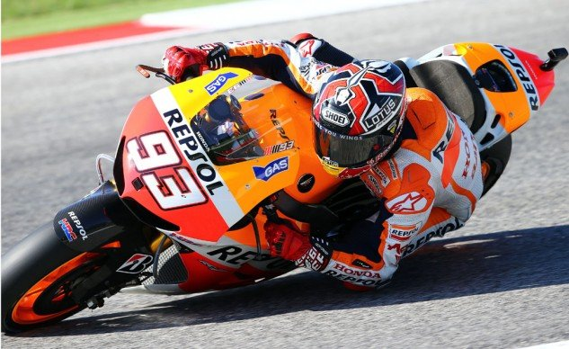 Leading Pedrosa and Lorenzo by 34 points, Marc Marquez needs to only remain consistent over the last five rounds to win the 2013 MotoGP title.