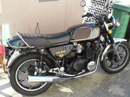 1979 Yamaha XS850 Right Side