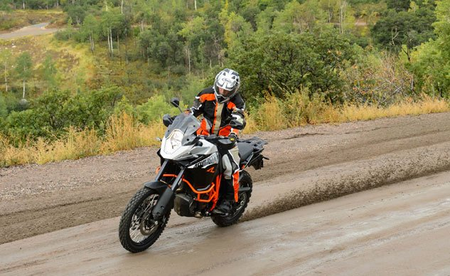 2013 KTM 1190 Adventure R Action Mud