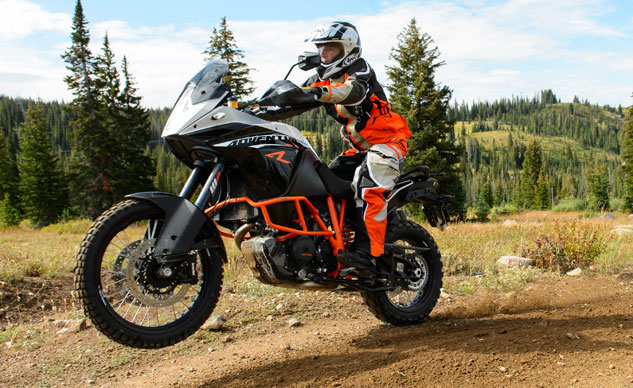 2013 KTM 1190 Adventure R Off-Road Action