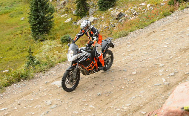 2013 KTM 1190 Adventure R Action Top