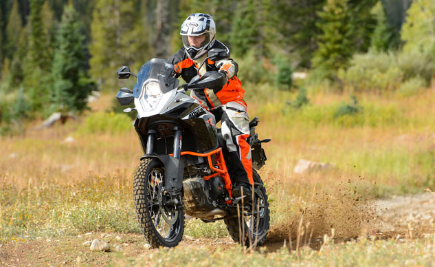 2013 KTM 1190 Adventure R Action Front Left
