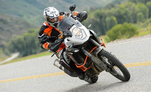 2013 KTM 1190 Adventure R Action Road