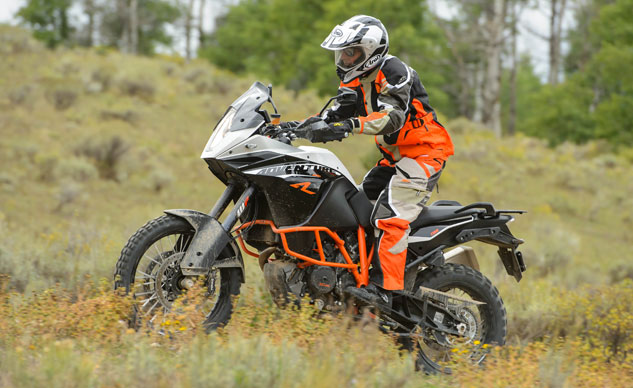 2013 KTM 1190 Adventure R Action Left