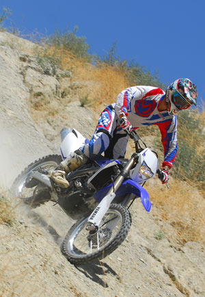 2013 Yamaha WR450F Action Downhill