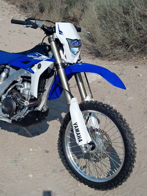 2013 Yamaha WR450F Front End