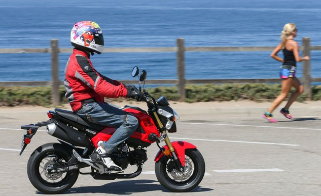 2014 Honda Grom Action Right