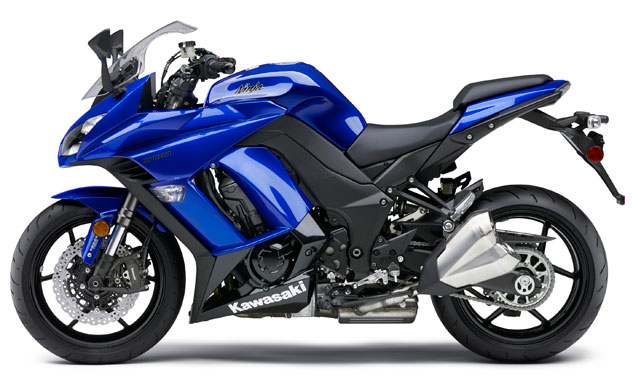 2014 Kawasaki Ninja 1000 Blue Profile Left