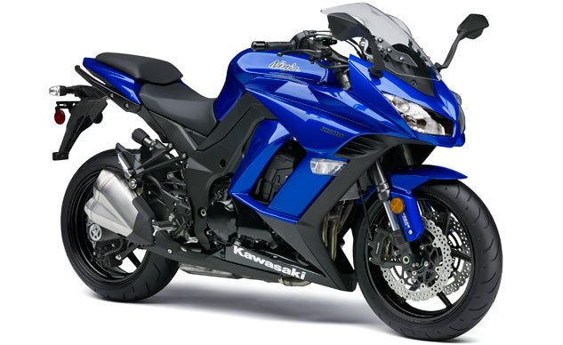 2014 Kawasaki Ninja 1000 Blue Right Front