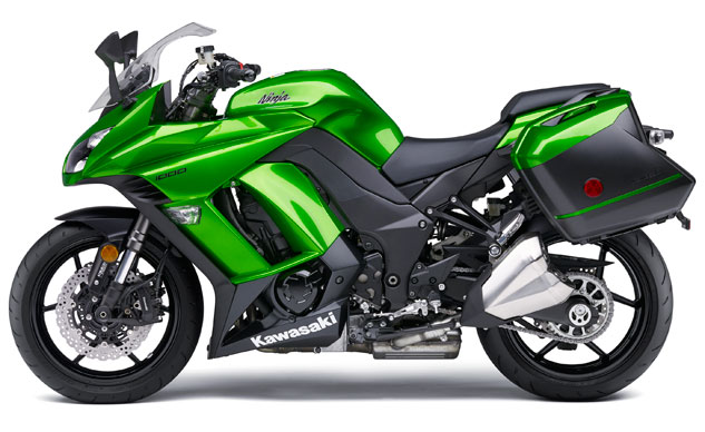 2014-Kawasaki-Ninja-1000-Green-Profile-Left