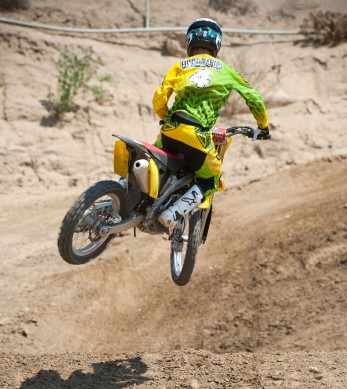 2014 Suzuki RM-Z Action Rear