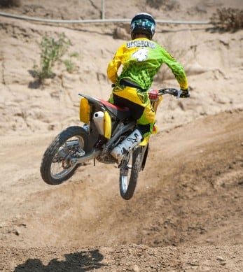 2014 Suzuki RM-Z250 Action Rear