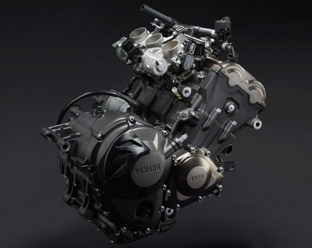 2014 Yamaha FZ-09 Engine