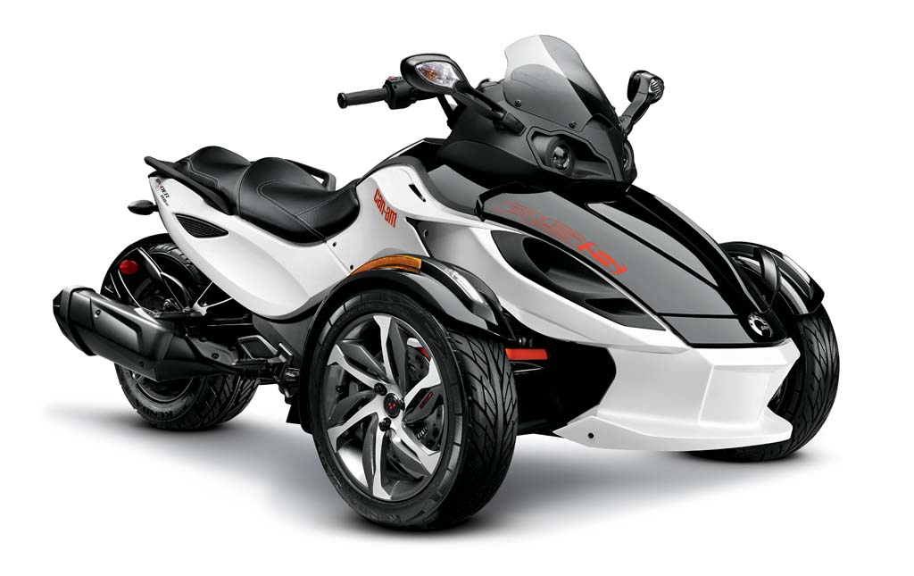 2014 Can Am Spyder Review