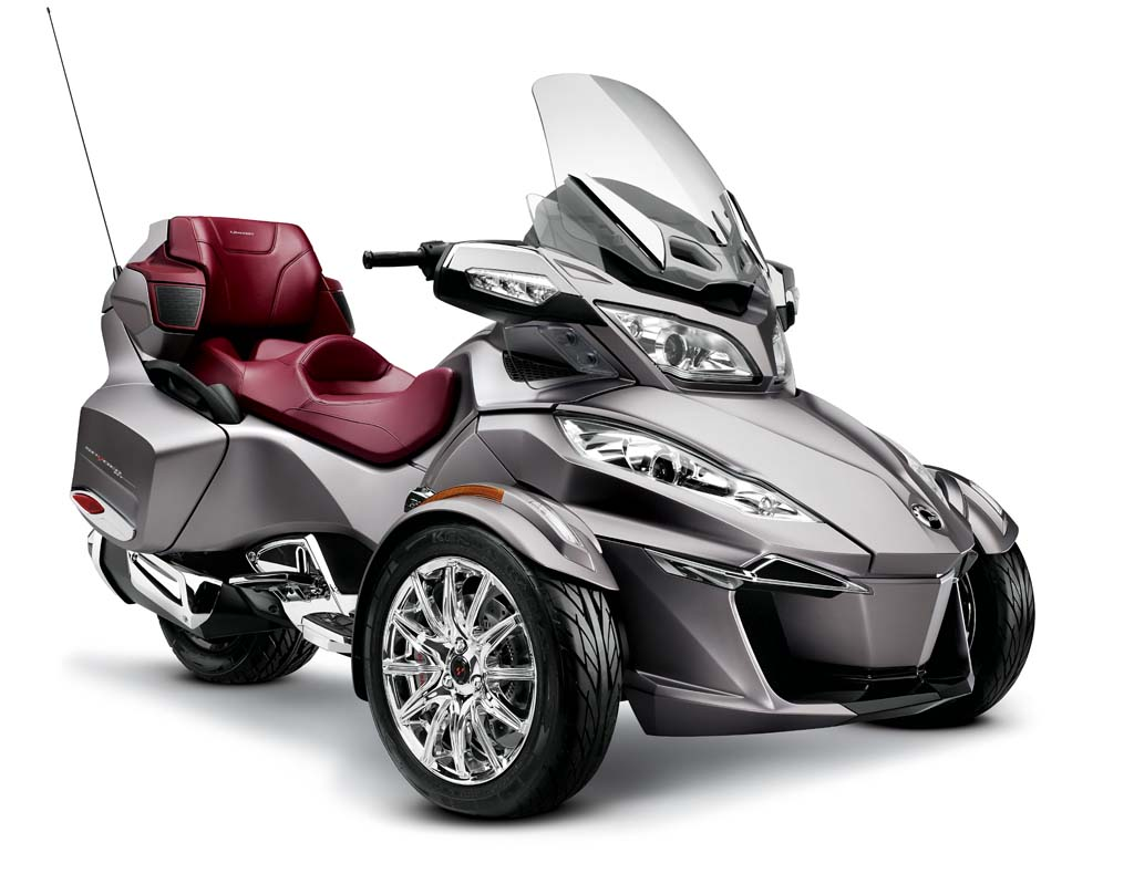 Spider Three Wheel Motorcycle >> 2014 Can-Am Spyder Review