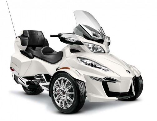 2014-cam-am-spyder-roadster-RT LTD_3-4 Wht-Blk seat_14