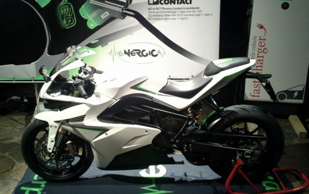 2015 Energica Ego Left Side