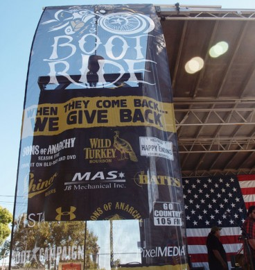 Boot Ride Banner