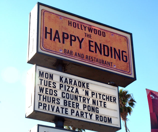 Happy Ending Sign