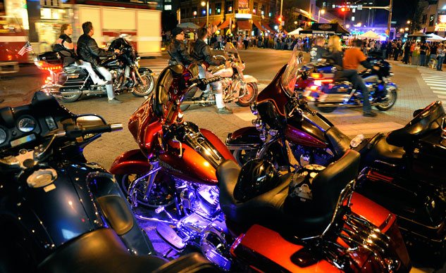 Harley-Davidson 110th Anniversary Night Life
