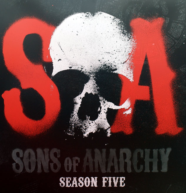 Sons of Anarchy Season Five Banner