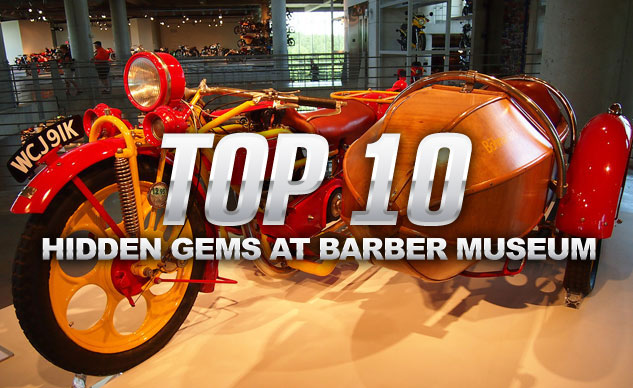 Top 10 Hidden Gems at the Barber Museum