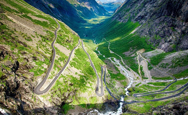 Trollstigen Norway Winding Road