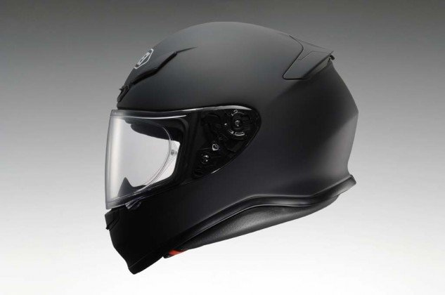 The RF-1200 has refined its lines, tucking the chin and back in closer to the rider's head.