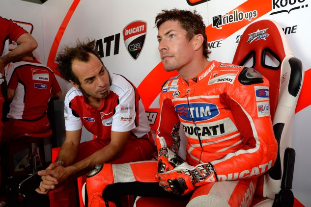 He may have been cast off of the Ducati factory team but Nicky Hayden's services are still highly sought after by teams. Not many former World Champions suddenly become available very often.