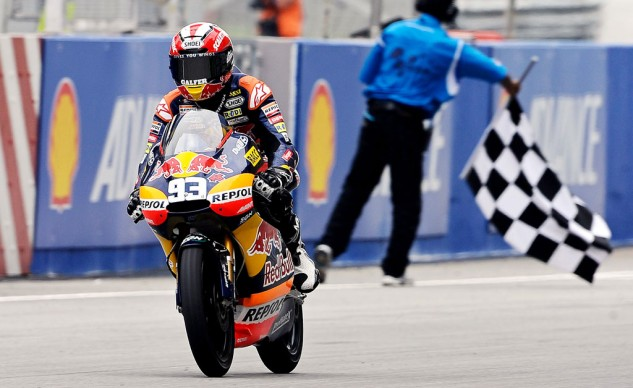Marc Marquez has only completed a GP race at Sepang once, taking the 125cc class win in 2010.