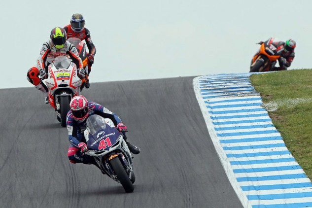 With an 11th-place finish, Aleix Espargaro successfully clinched the top CRT entry for the second consecutive season.