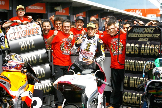 Marc Marquez clinched the Moto2 title on the penultimate round of the 2012 season. Can he do the same thing this year at Motegi?
