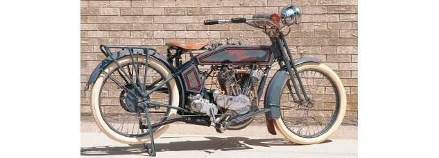 1915 Harley-Davidson 11F courtesy How Stuff Works