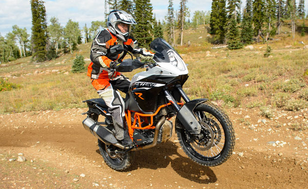 2013 KTM 1190 Adventure R Wheelie