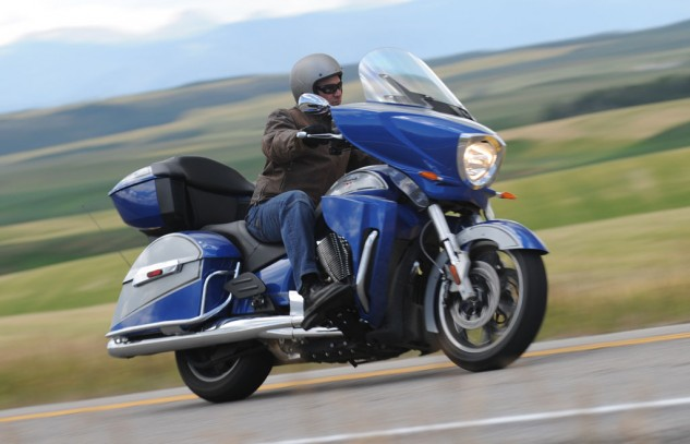 2014 Victory Ness Cross Country-Limited Edition Highway Action