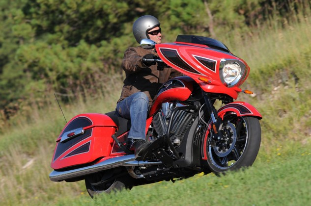 2014 Victory Ness Cross Country-Limited Edition Action Right