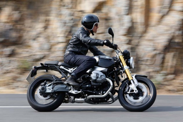A puristic motorcycle: All the components necessary on a modern motorcycle and nothing else.