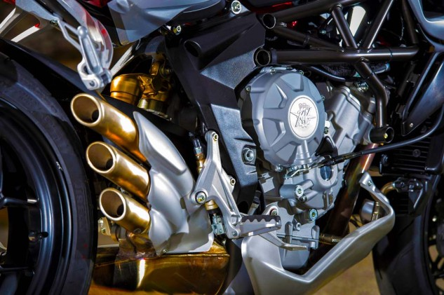 MV Agusta has gotten good use out of its 798cc Triple. Along with the Rivale, Brutale and F3 800, MV Agusta will introduce a new Turismo Veloce 800 adventure/sport tourer.
